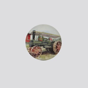 The Minneapolis Steam Tractor Mini Button