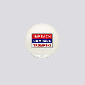 Impeach Comrade Trumpski Mini Button
