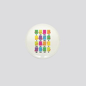 Chord Cheat Tee White Mini Button