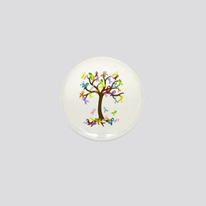Ribbon Tree Mini Button