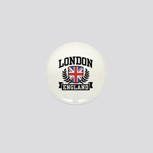London England Mini Button