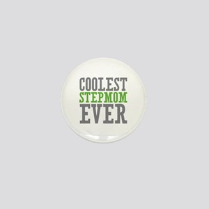 Coolest Stepmom Mini Button