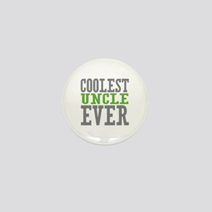Coolest Uncle Mini Button