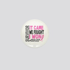 Breast Cancer Survivor 2 Mini Button
