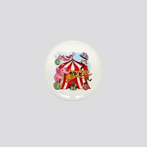 The Circus is in Town Mini Button