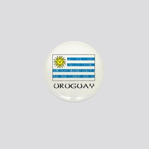 Uruguay Flag Mini Button
