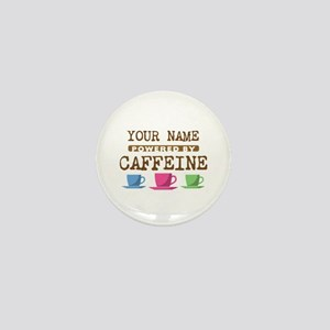 Powered by Caffeine Mini Button