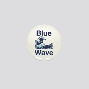 Blue Wave 2018 Mini Button