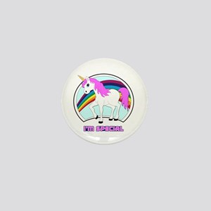 I'm Special Funny Unicorn Mini Button