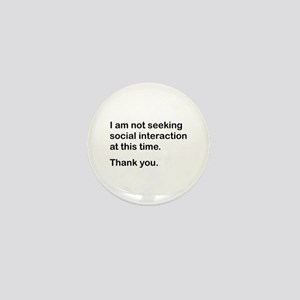 Leave Me Alone Quotes Mini Buttons Cafepress