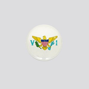 Vintage Virgin Islands Mini Button