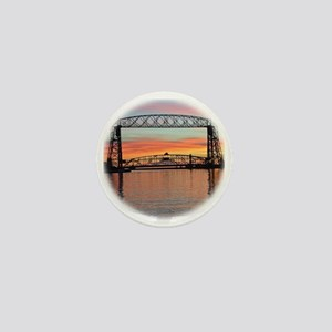 Sunrise under the Bridge Mini Button