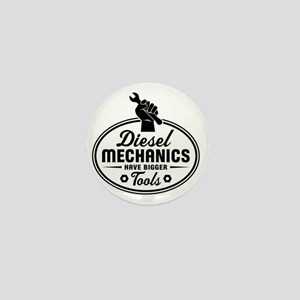 diesel mechanics Mini Button