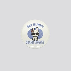 Grand Targhee Wyoming Ski Bunny Print Mini Button