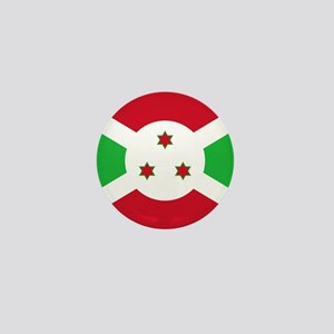 Flag of Burundi Mini Button