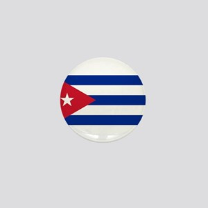 Cuban Flag - Bandera Cubana - Flag of Mini Button