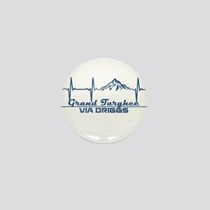 Grand Targhee - via Driggs - Wyoming Mini Button