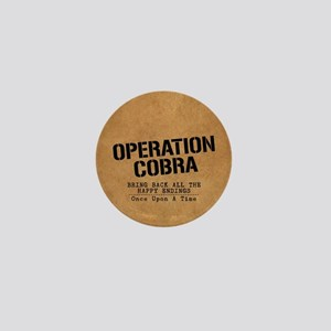 OUAT Operation Cobra Mini Button