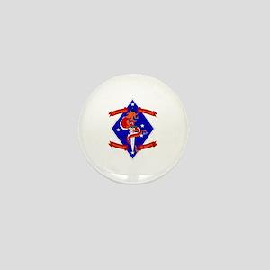 1st Battalion - 4th Marines Mini Button