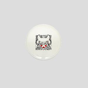 wolf princess Mini Button