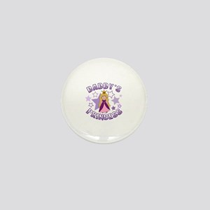 Daddy's Princess Mini Button