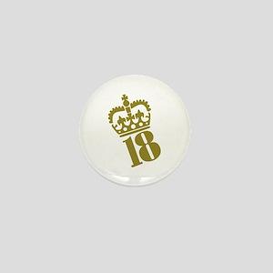 18th Birthday Mini Button