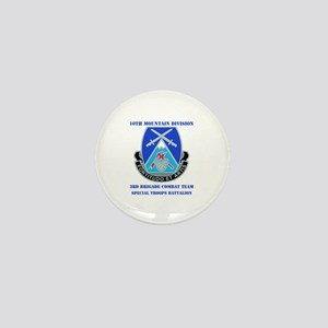 3rd BCT - Special Troops Bn with Text Mini Button