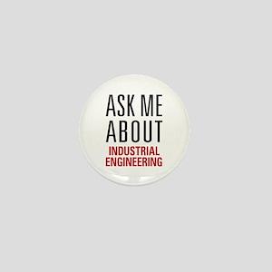 Industrial Engineering Mini Button