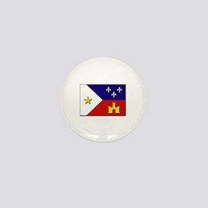 Flag of Acadiana Mini Button