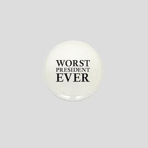Worst President Ever Mini Button