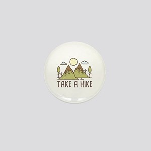 Take A Hike Mini Button