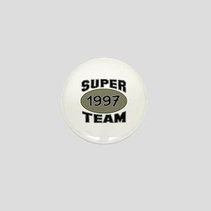 Super Team 1997 Mini Button