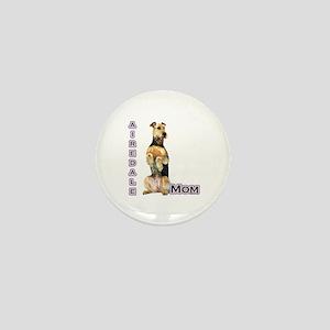 Airedale Mom4 Mini Button