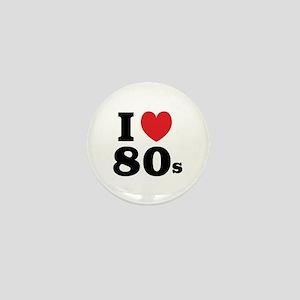 I Heart 80s Mini Button