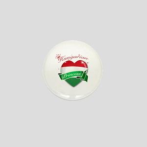 Hungarian Princess Mini Button