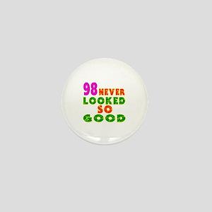 98 Birthday Designs Mini Button