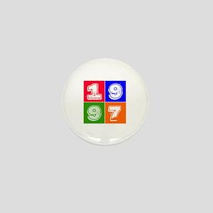 1997 Birthday Designs Mini Button
