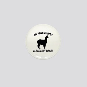 Alpaca My Bags Mini Button
