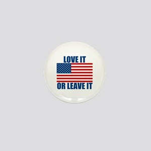 Love it or Leave it Mini Button