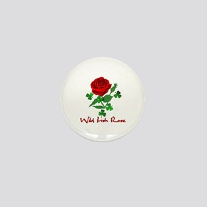 Wild Irish Rose Mini Button
