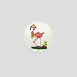 Flamingo Droppings Mini Button