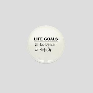 Tap Dancer Ninja Life Goals Mini Button