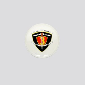SSI - 1st Battalion - 3rd Marines Mini Button