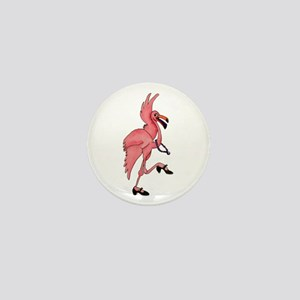 Flamingo Dancer Mini Button