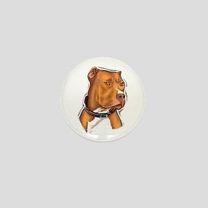Pit Bull Beauty Mini Button