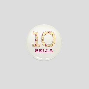 10th Birthday Personalized Mini Button