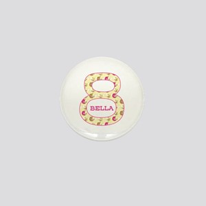8th Birthday Personalized Mini Button