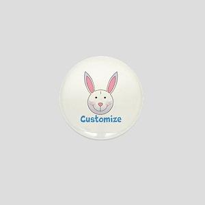 Custom Easter Bunny Mini Button
