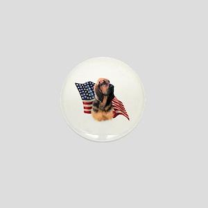 Bloodhound Flag Mini Button