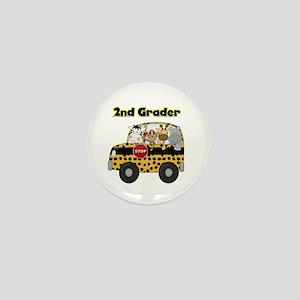 Zoo Animals 2nd Grade Mini Button